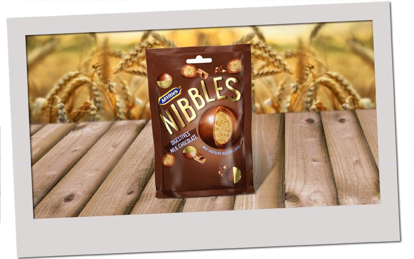 McVitie's Digestive Nibbles Milk Chocolate 120g