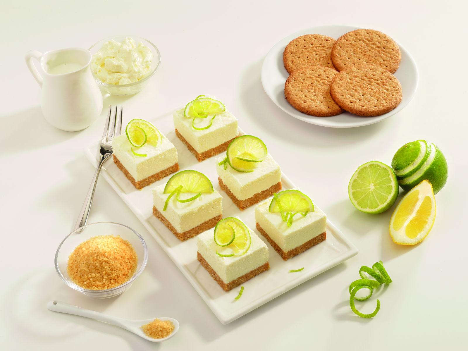 Μίνι Τσίζκεϊκ (cheesecake) με λεμόνι